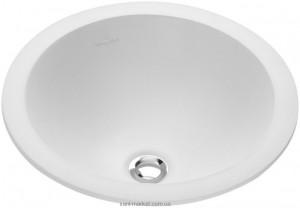 Раковина для ванной встраиваемая Villeroy & Boch коллекция Loop & Friends белая 61415101