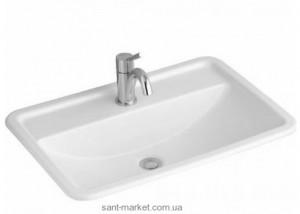 Раковина для ванной встраиваемая Villeroy & Boch коллекция Loop & Friends белая 51456001