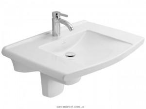 Раковина для ванной подвесная Villeroy & Boch коллекция Lifetime белая 517480R1
