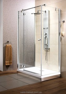 Душевая дверь в душевой уголок Radaway Fuenta KDJ стеклянная распашная 80х195 381033-01L1