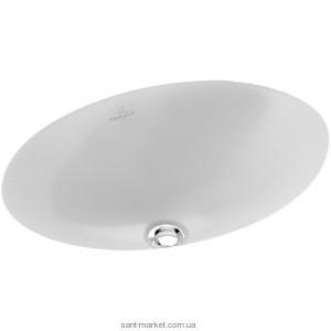 Раковина для ванной встраиваемая Villeroy & Boch коллекция Loop & Friends белая 616130R1