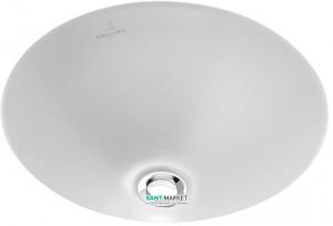 Раковина для ванной встраиваемая Villeroy & Boch коллекция Loop & Friends белая 61814301