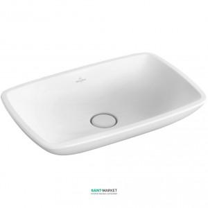 Раковина для ванной накладная Villeroy & Boch коллекция Loop & Friends белая 515400R1