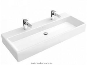 Раковина для ванной подвесная двойная Villeroy & Boch коллекция Memento белая 5133CG01