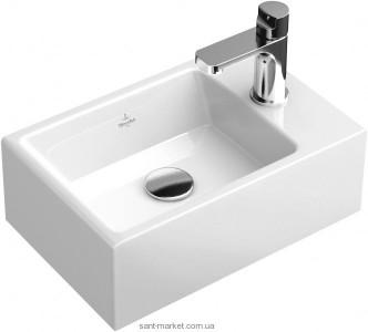 Раковина для ванной подвесная Villeroy & Boch коллекция Memento белая 53334G01