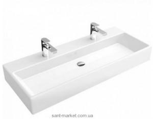 Раковина для ванной подвесная двойная Villeroy & Boch коллекция Memento белая 5133C201