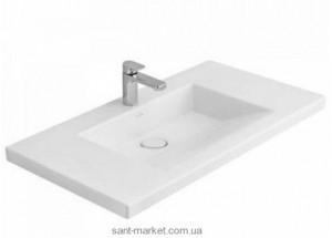 Раковина для ванной на тумбу умывальник-столешница Villeroy & Boch коллекция Memento белая 519511R2