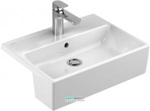 Раковина для ванной накладная Villeroy & Boch коллекция Memento белая 41335601