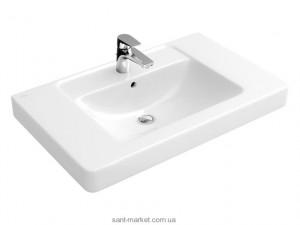 Раковина для ванной на тумбу Villeroy & Boch коллекция Omnia Architectura белая 61168001