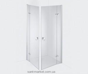 Душевая дверь в нишу Kludi ESPRIT стеклянная распашная 100х200 56T1099L