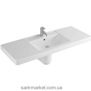 Раковина для ванной подвесная умывальник-столешница Villeroy & Boch Omnia Architectura белая 61181301