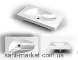 Раковина для ванной на тумбу Буль-Буль коллекция Titania белая 2307101