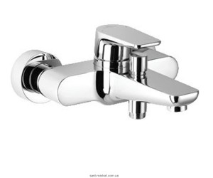 Смеситель для ванны однорычажный с коротким изливом Dornbracht коллекция Subway хром 33 200 935-00