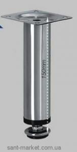 Буль-Буль Ножки мебельные круглые 150 мм, хром