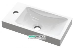Раковина для ванной встраиваемая Буль-Буль коллекция Ida белый 1704101