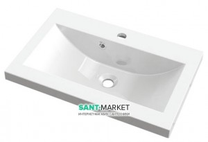 Раковина для ванной встраиваемая Буль-Буль коллекция Jody белая 1605101