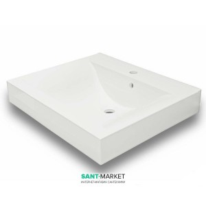 Раковина для ванной накладная Буль-Буль коллекция Nadja белая 0206101
