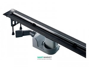 Желоб водосточный Viega Advantix Vario боковой выпуск мокрый затвор 704360