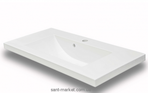 Раковина для ванной встраиваемая Буль-Буль коллекция Jody белая 1608101