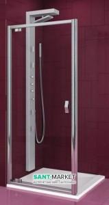 Душевая дверь в нишу Aquaform Salgado стеклянная распашная 80х190 06075