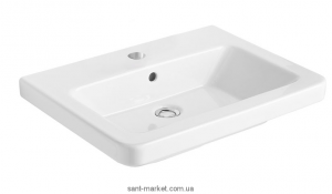 Раковина для ванной подвесная Gala Street Square 55х45х14.2 белая G0504001