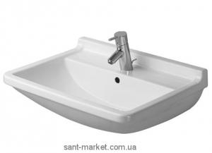 Раковина для ванной подвесная Duravit Starck 3 60х45х19 белая 0300600000