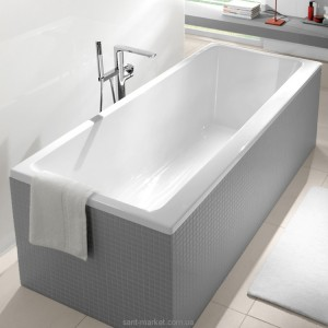 Ванна акриловая прямоугольная Villeroy & Boch коллекция Subway 170x75х45 UBA170SUB2V-01
