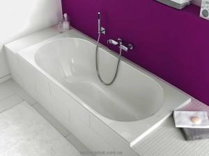 Ванна акриловая прямоугольная Villeroy & Boch коллекция O.Novo 180x80х50 UBA180CAS2V-01