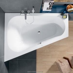 Ванна акриловая Villeroy & Boch коллекция Loop & Friends 175x135х44 L UBA175LFO9LIV-01
