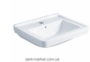 Раковина для ванной подвесная Gala Noble 75х52.5х16 белая G1203001