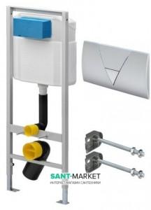 Система инсталляции для подвесного унитаза Viega Eco 3в1 49х113х13 673192