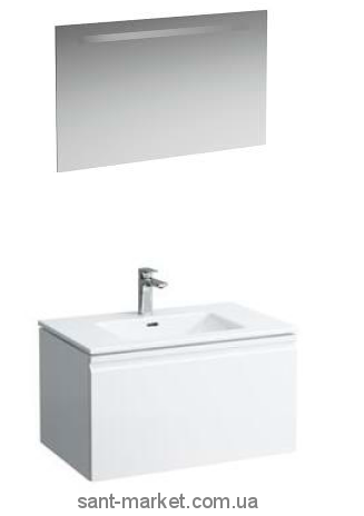 Laufen Тумба с умывальником 100+Laufen зеркало 100*62см с подсветкой 8609654641041+ 4472519961441