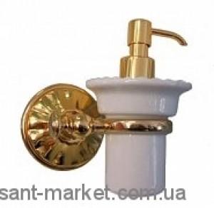 ALL.PE Margherita Дозатор для жидкого мыла золото-белый ORBI MG108
