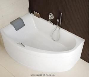 Ванна акриловая угловая Kolo коллекция Mirra 170х110х42 L XWA3371001 + подголовник