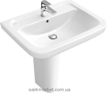 Раковина для ванной подвесная Villeroy&Boch коллекция Omnia Architectura белая 51756001