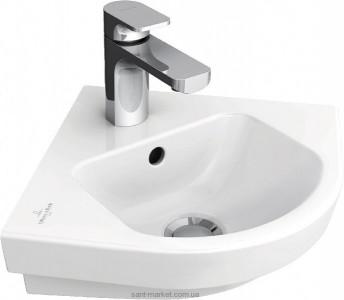Раковина для ванной подвесная Villeroy & Boch коллекция Subway 2.0 белая 73194601