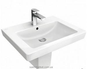 Раковина для ванной подвесная Villeroy & Boch Subway 2.0 45х37х14 белая 73154501