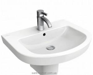 Раковина для ванной подвесная Villeroy & Boch коллекция Subway 2.0 белая 71146601