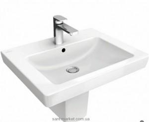 Раковина для ванной подвесная Villeroy & Boch коллекция Subway 2.0 белая 71135701