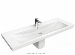 Раковина для ванной подвесная Villeroy & Boch коллекция Subway белая 7176D001