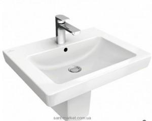 Раковина для ванной подвесная Villeroy & Boch коллекция Subway 2.0 белая 71136201