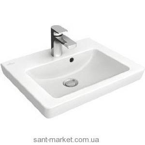 Раковина для ванной на тумбу Villeroy & Boch коллекция Subway 2.0 белая 73173701
