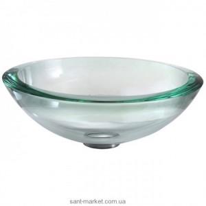 Раковина для ванной накладная Kraus прозрачная GV-150-19mm