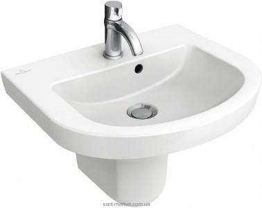 Раковина для ванной подвесная Villeroy & Boch коллекция Subway 2.0 белая 73164501