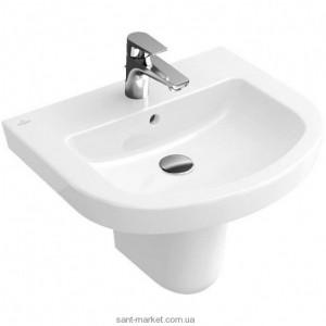 Раковина для ванной подвесная Villeroy & Boch коллекция Subway 2.0 белая 71145701