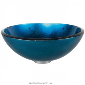 Раковина для ванной накладная Kraus синяя GV-204-12mm
