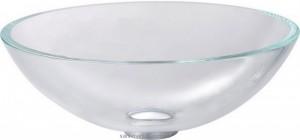 Раковина для ванной накладная Kraus прозрачная GV-100-12mm