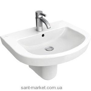 Раковина для ванной подвесная Villeroy & Boch коллекция Subway 2.0 белая 71146201