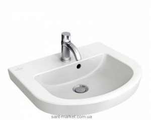 Раковина для ванной на тумбу Villeroy & Boch коллекция Subway 2.0 белая 73165G01