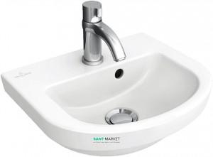 Раковина для ванной подвесная Villeroy & Boch коллекция Subway 2.0 белая 73183701
